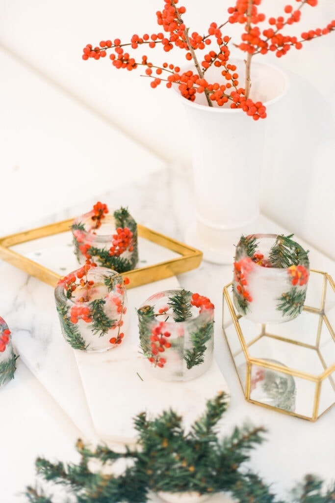 winter berry ice ring