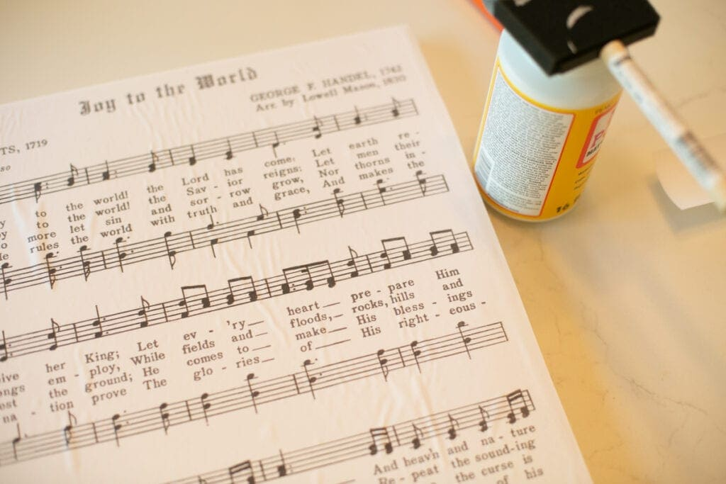 joy to the world music