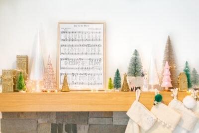 DIY christmas art