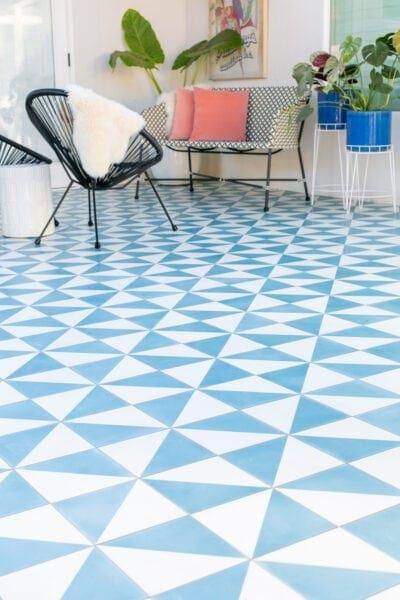 outdoor tile patio