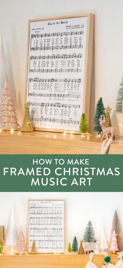 DIY christmas art