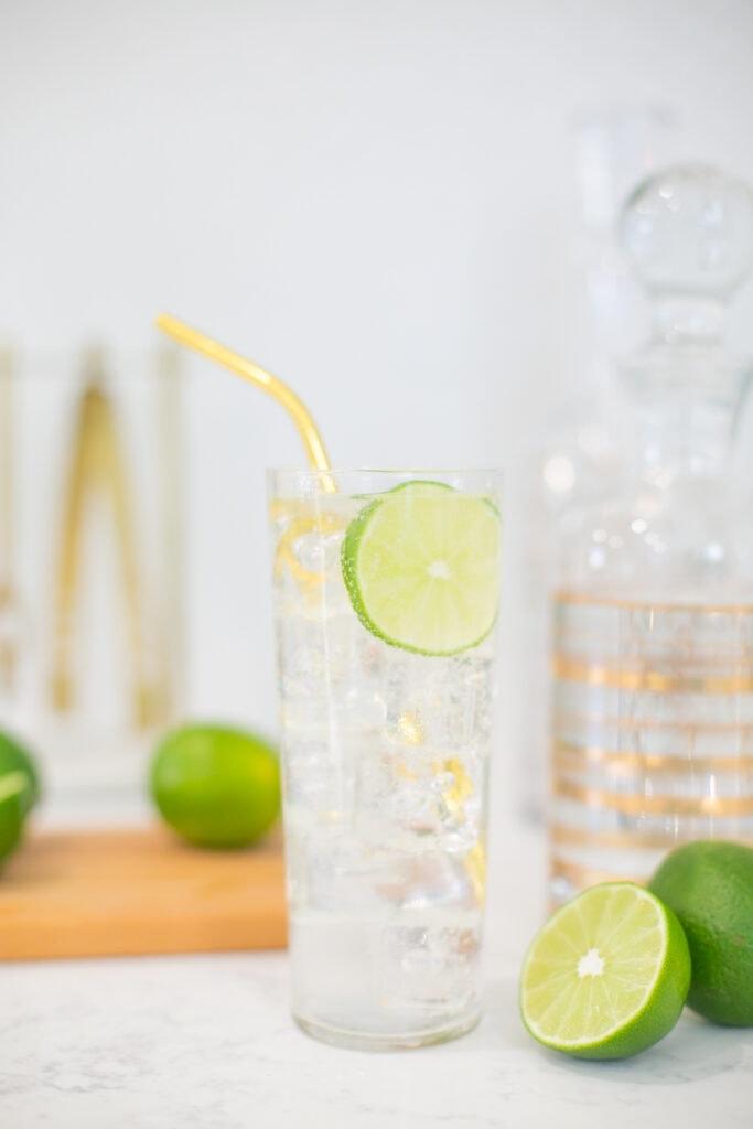 gin rickey cocktail