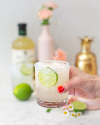 40th birthday idea to have a margarita cocktail