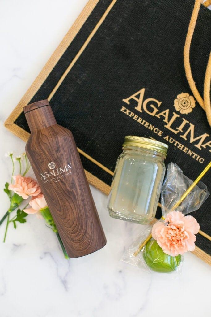 agalima termékek befőttesüveg koktéllal