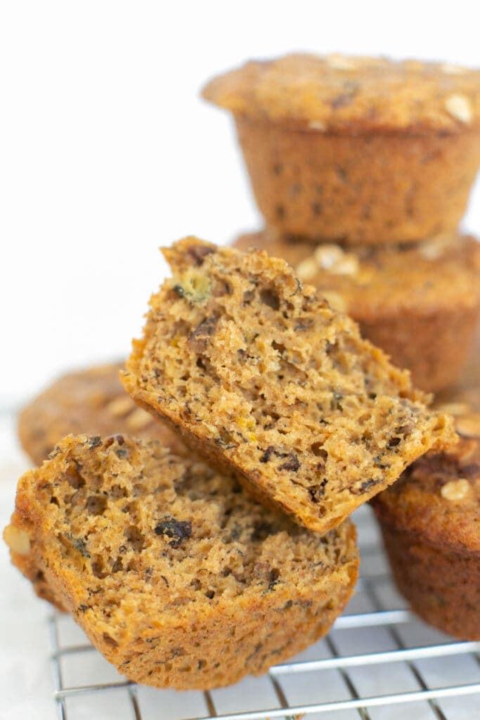 banánfehérje muffinok