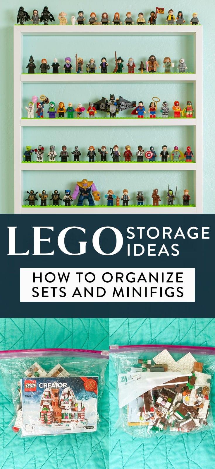 lego tárolási és szervezési ötletek