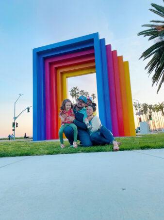 santa barbara chromatic gate with kids