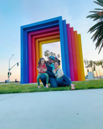 santa barbara chromatic gate with kids