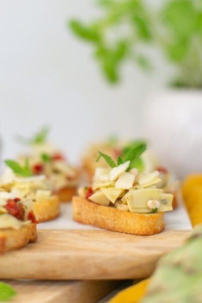 artichoke bruschetta recipe