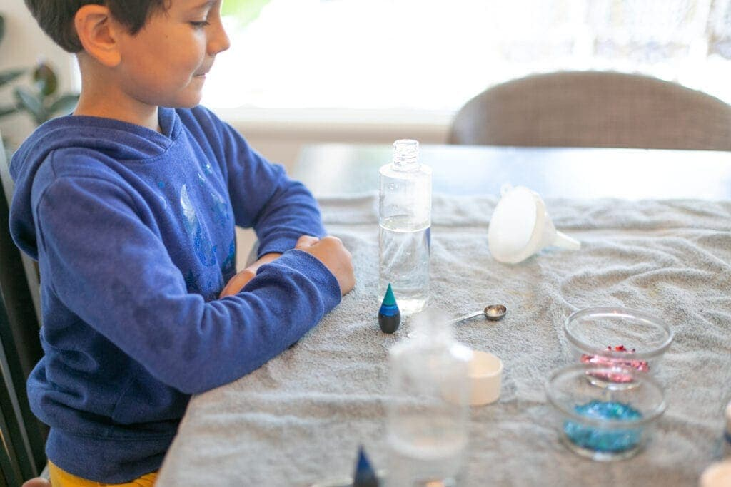 how to make calm down jars