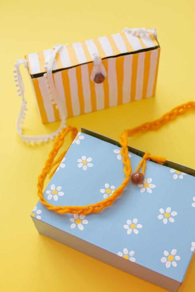 how to make box satchels