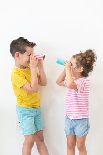 diy kids' toy binoculars