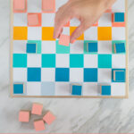 checkers and chess set DIY