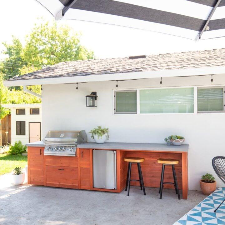 DIY Outdoor Kitchen Design
