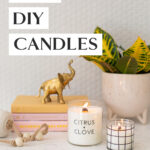 how to make wooden wick candles