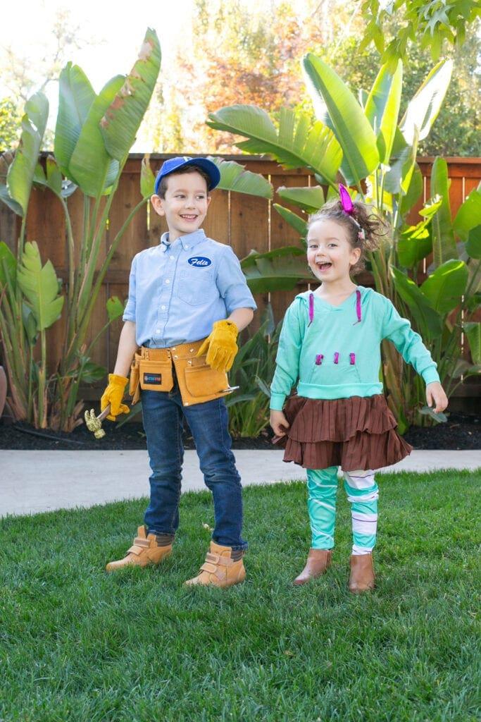 fix-it felix and vanellope halloween costumes