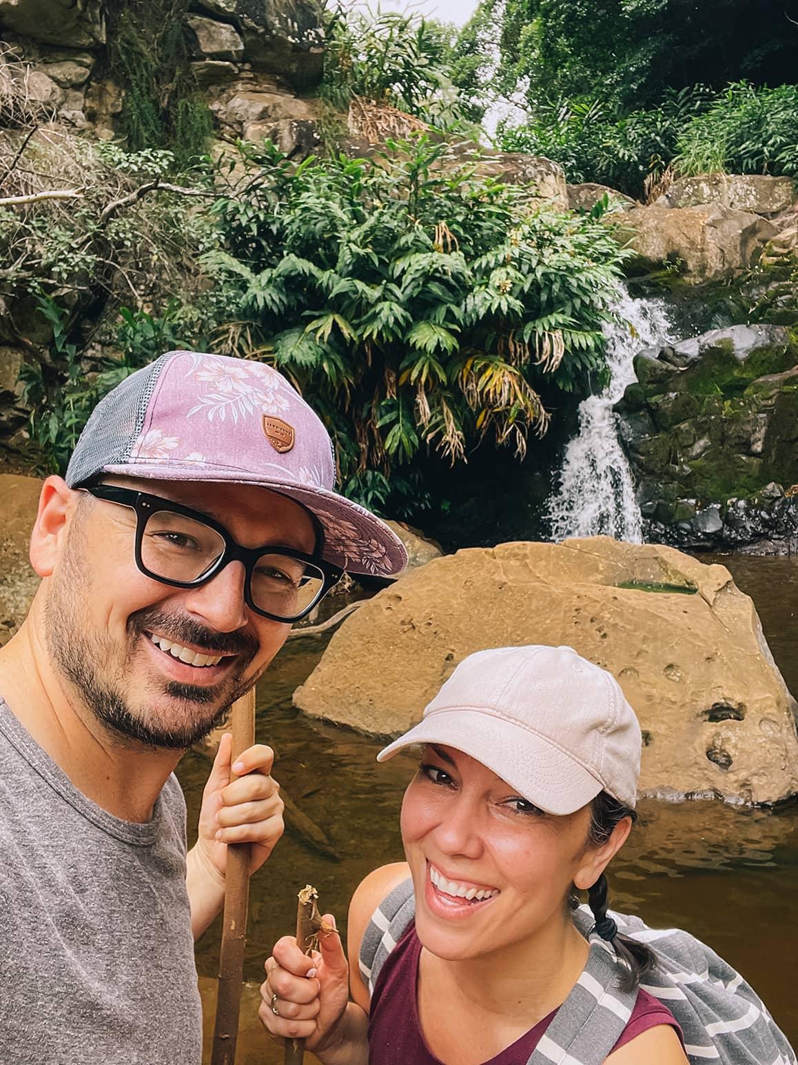hiking in kauai