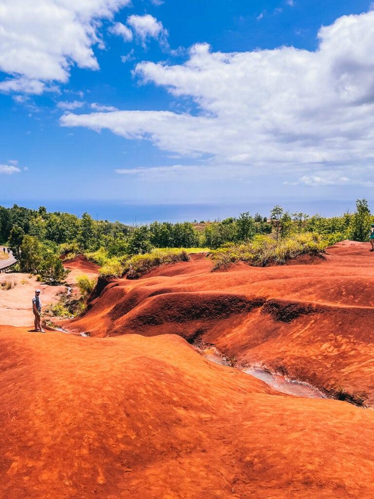 kauai vörös kosz esik