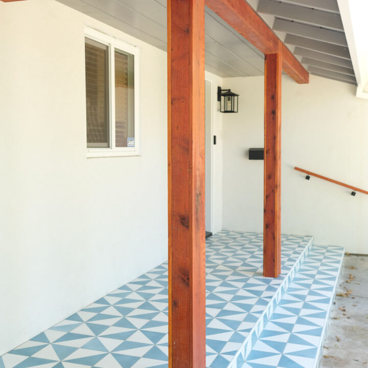 modern front porch design